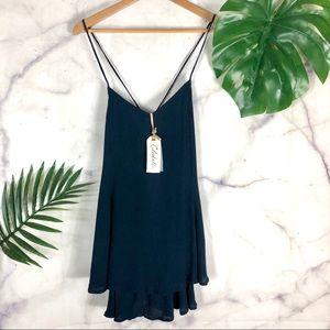 CLEOBELLA Dress | Tiered Mini Dress | Size XS